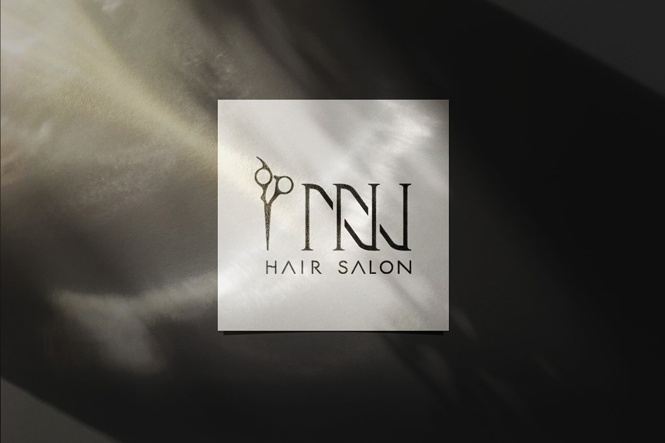 INN Hair Salon Logo設計